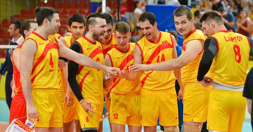 Одбојкарите на Македонија повторно поразени во финалето на Европската Сребрена Лига