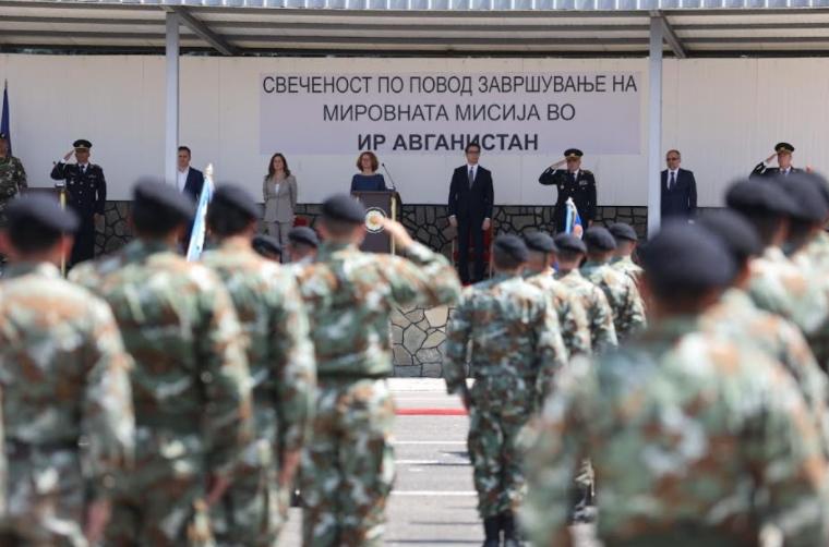 Пендаровски: Нашите војници покажаа дека се професионално обучени согласно највисоките НАТО стандарди