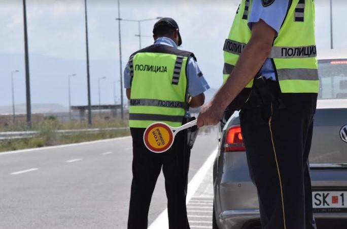 173 сообраќајни прекршоци во Скопје, 48 за брзо возење