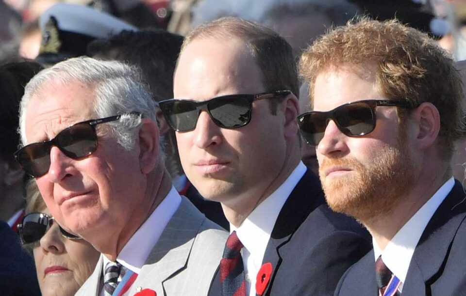 Го понижија принцот Хари, му покажаа каде му е местото