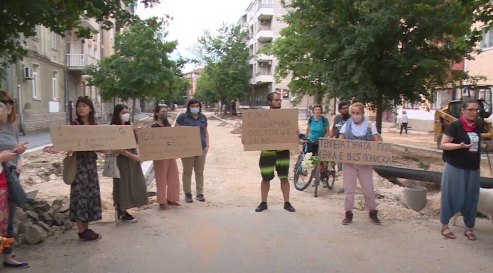 ПРОТЕСТ: Престанете со понатамошно убивање на зеленилото во Скопје, како еден од најзагадените градови во Европа!