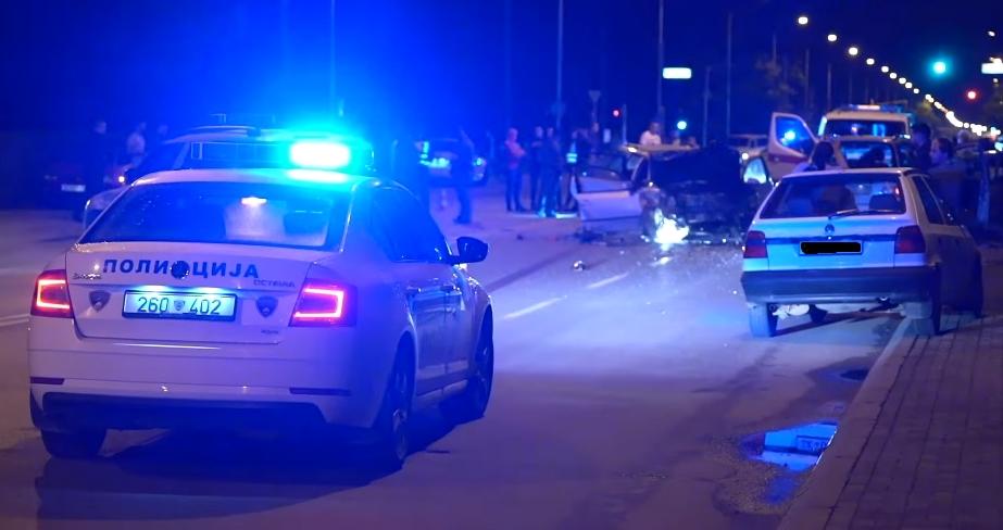 ФОТО: Страшна сообраќајка на Првомајска, има загинати и поголем број повредени лица