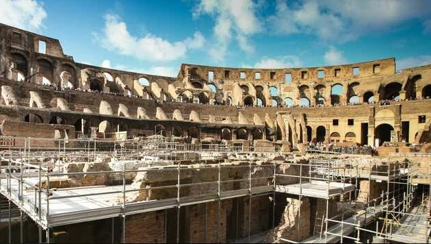 Подземјето на Колосеумот во Рим првпат достапно за туристи