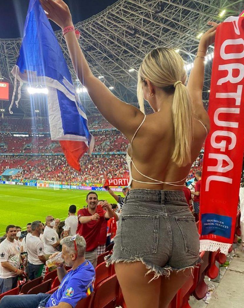 ФОТО: Кога таа ќе се појави стадион, повеќе на никој не му е интересно дербито од Европското првенство
