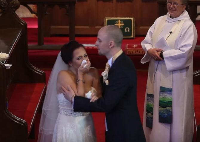 Младоженецот ја прекина свадбата: Невестата плачеше кога сфати зошто го сторил тоа! (ВИДЕО)