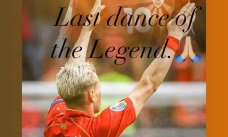 """Џани со емотивна порака до Бате Горан – """"Последниот танц на легендата"""" (ФОТО)"""
