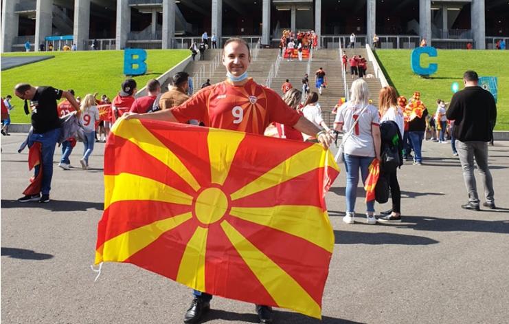 Македонските фудбалери специјални гости на концертот на Симон Трпчески во Букурешт