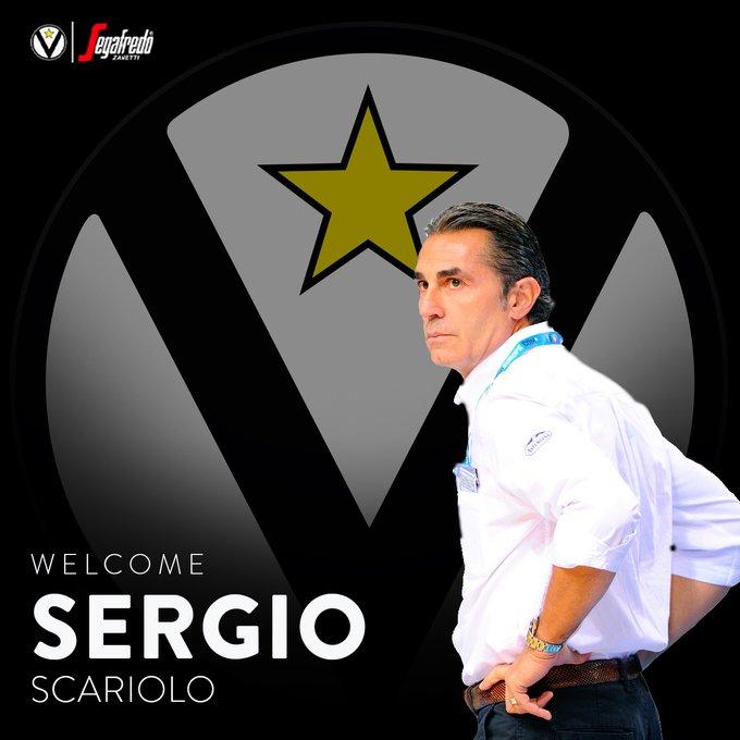 ОФИЦИЈАЛНО: Серџо Скариоло е новиот тренер на Виртус Болоња