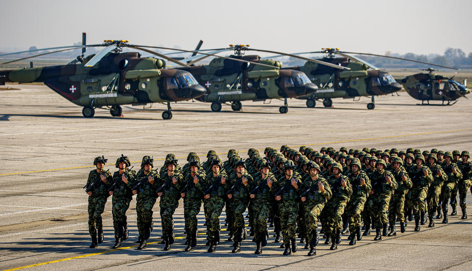 Балканска безбедносна мрежа: Србија предничи со големи воени вежби во изминатите пет години