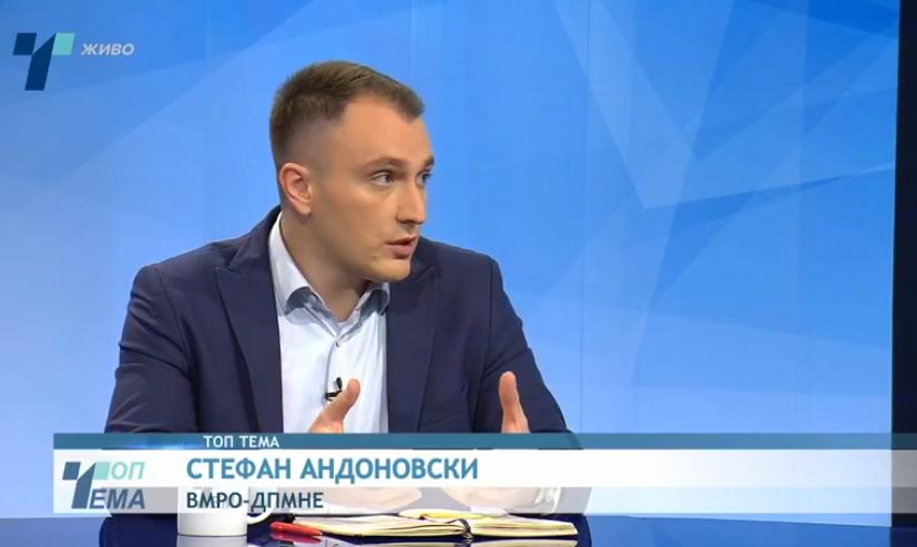 Андоновски за недобивањето датум за преговори со Брисел: Ние кажувавме дека датумот е недостижен додека е Заев на власт