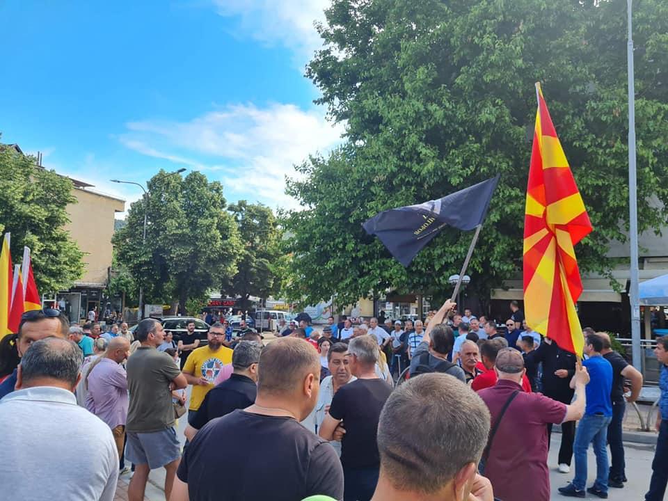 Штипјани на протест порачаа: Стоп за предавствата