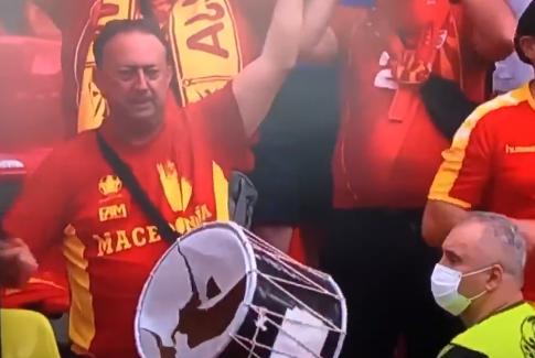 ВИДЕО: Популарниот македонски навивач доби нов тапан