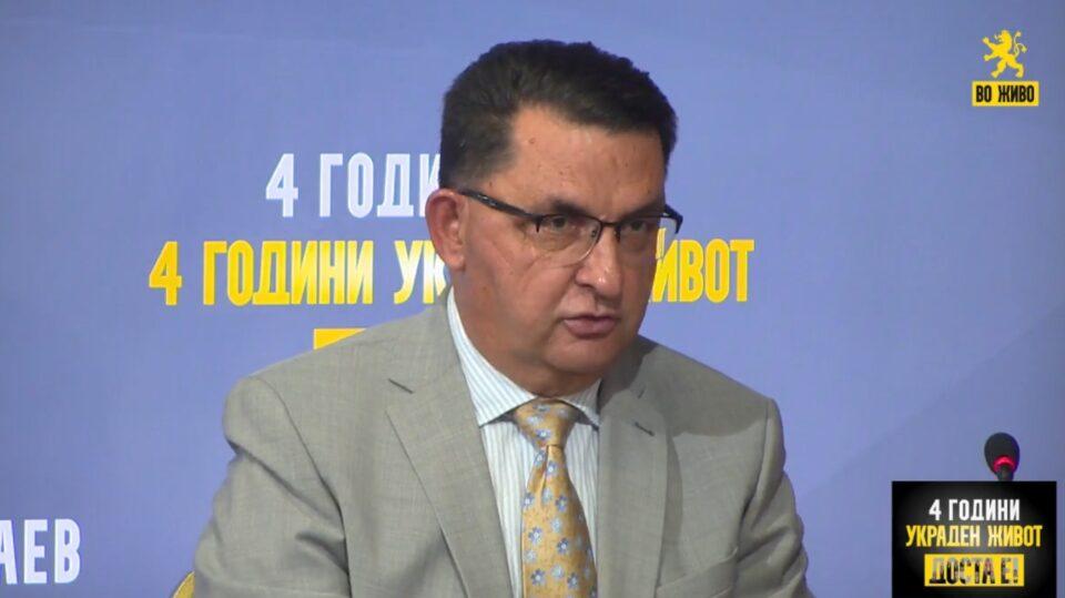 Славески: Од ветените 5% БДП секоја година добивме 0.7% за четири години и промашен даночен систем што ја зголеми сиромаштијата