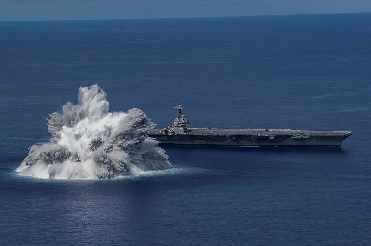 ВИДЕО: Американската морнарица активираше бомба во океан, експлозијата предизвика земјотрес