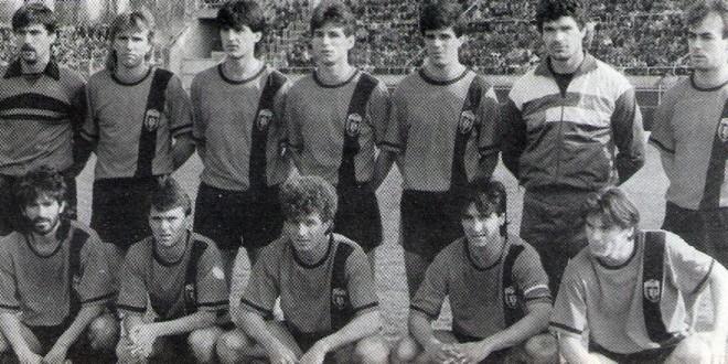 На денешен ден 1987-та Вардар стана шампион на Југославија!