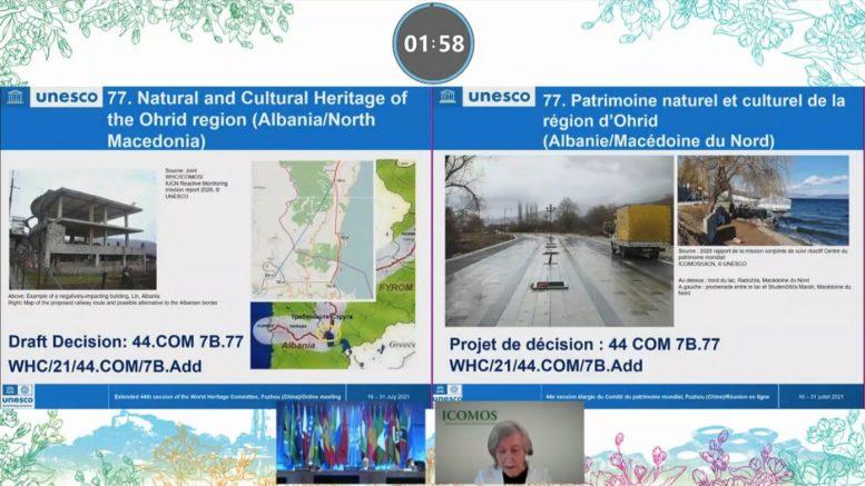Охридскиот регион го задржа статусот на Светско културно и природно наследство на УНЕСКО