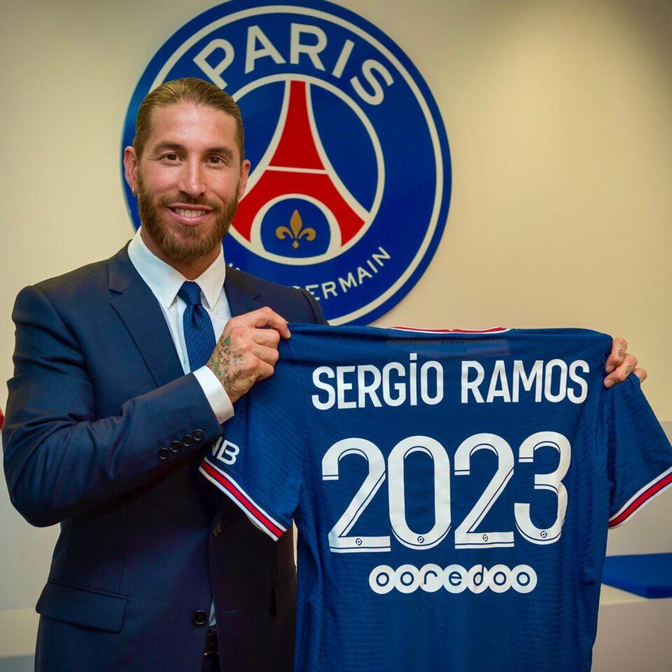 ПСЖ по грешка го потврди трансферот на Рамос и откри кој број ќе го носи (ФОТО)