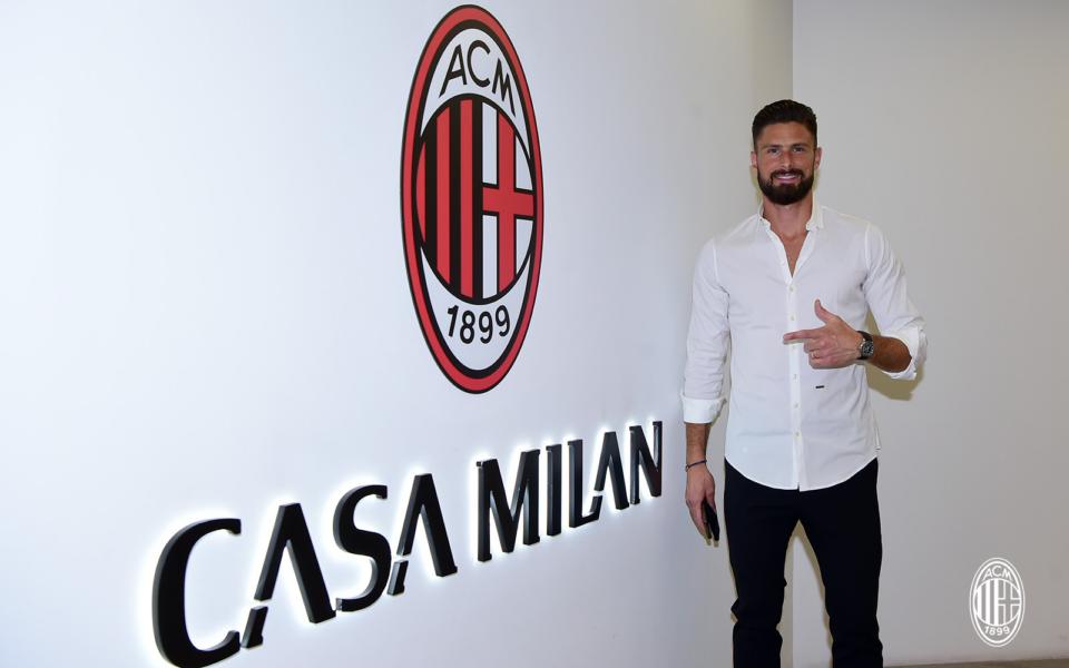 ФОТО: Милан го претстави Оливие Жиру