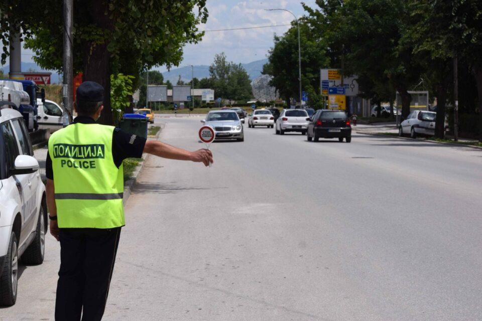 211 сообраќајни прекршоци во Скопје, 94 за брзо возење