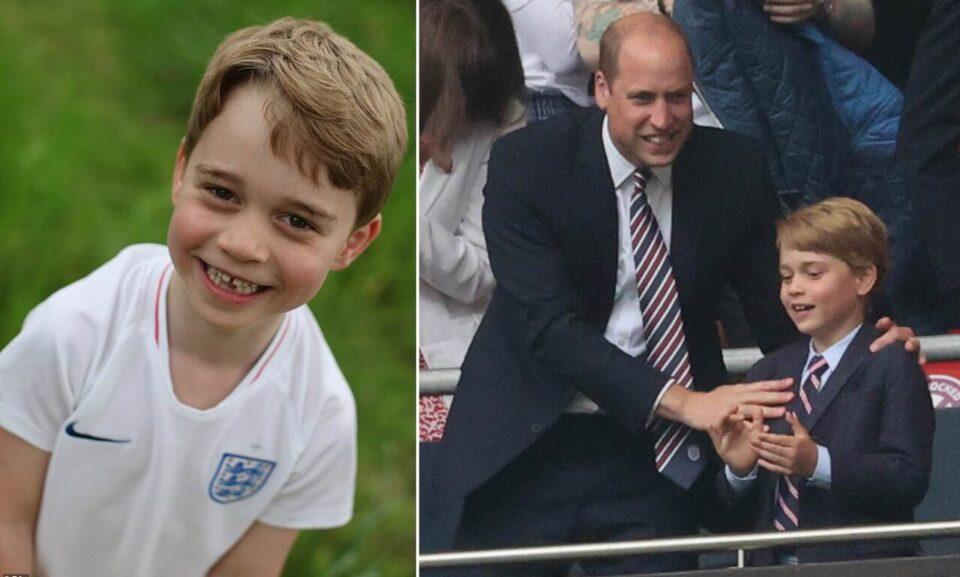 Погодете заради што! Роденденската фотографија на принцот Џорџ сосема го освои светот!