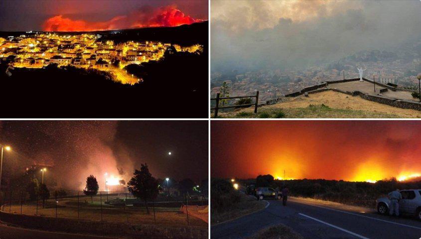 Гори славно одморалиште, омилено на македонскиот џет-сет: Евакуирани се жителите и туристите, пожарот проголта сè, небото е покриено со пепел….