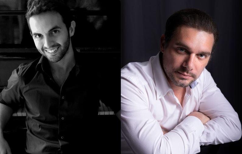 """Италијанска вечер на """"Охридско лето"""" со тенорот Алесандро Фантони во пијано придружба на маестро Џорџо Мартано"""