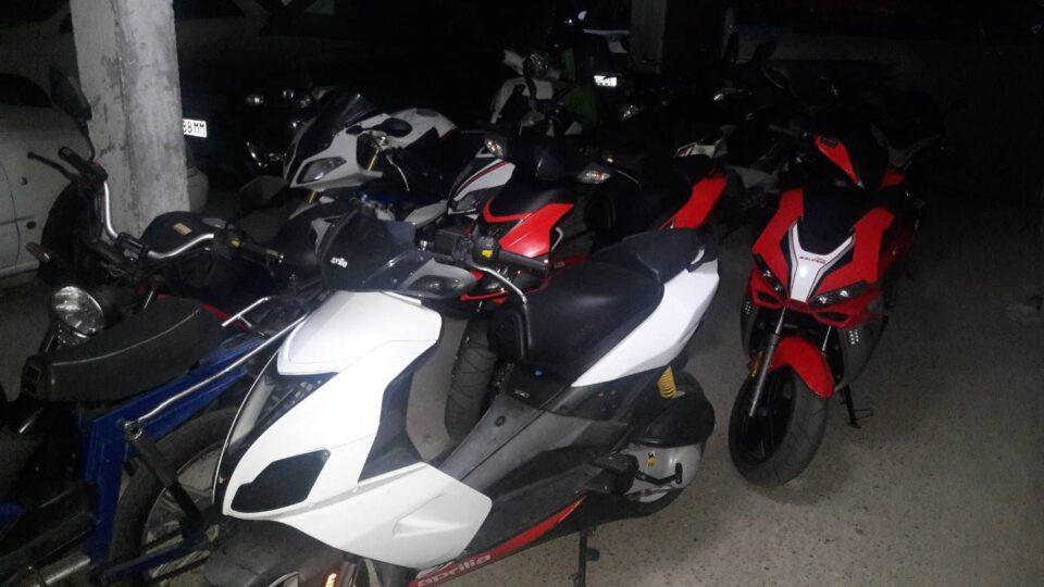 Во Штип санкционирани 33 возачи на мотоциклисти