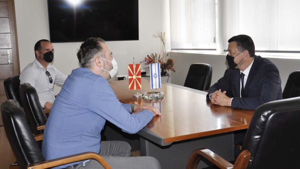 Амбасадорот на Израел во посета на Охрид
