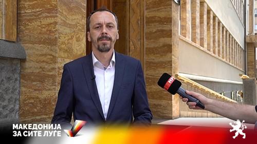 """Петрушевски: Левица е испостава на Заев, и формално ставија потпис со поддршка на """"Северна"""""""