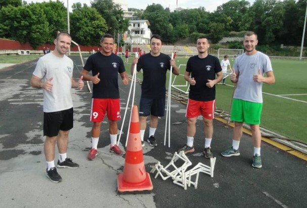 КМФ Проект ги почна подготовките за Лигата на шампиони во футсал