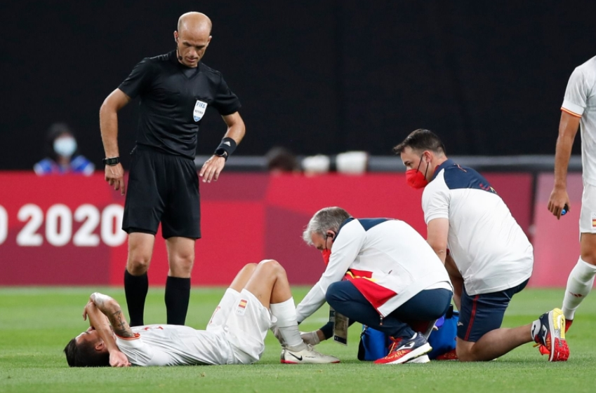 """Себалос се огласи по тешката повреда: """"Ќе се обидам да се вратам"""""""