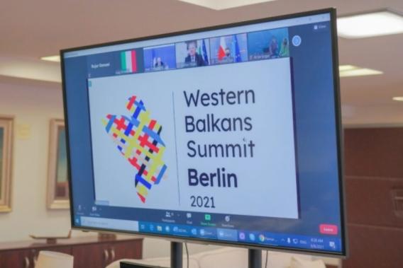 Лидерите на Западен Балкан на виртуелен самит на Берлинскиот процес