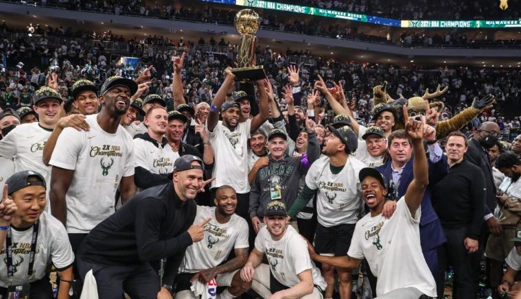 Милвоки по втор пат ја освои шампионската титула во НБА