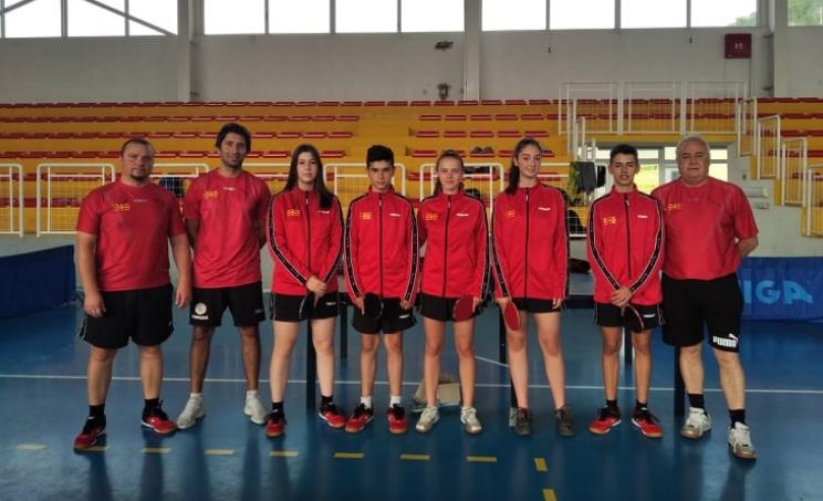 Македонските пинг-понгари се подготвуваат за европското првенство во Загреб