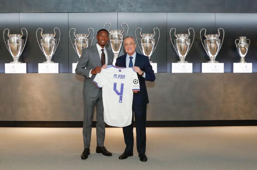 Алаба ново засилување на Реал Мадрид