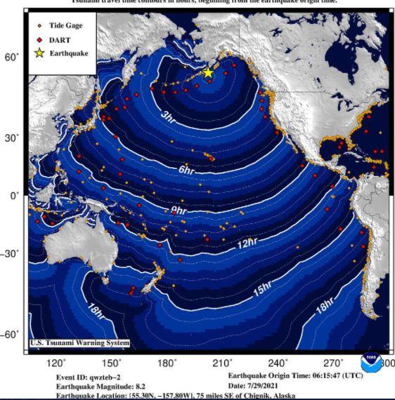 Укинати предупредувањата за цунами  по земјотресот во Алјаска