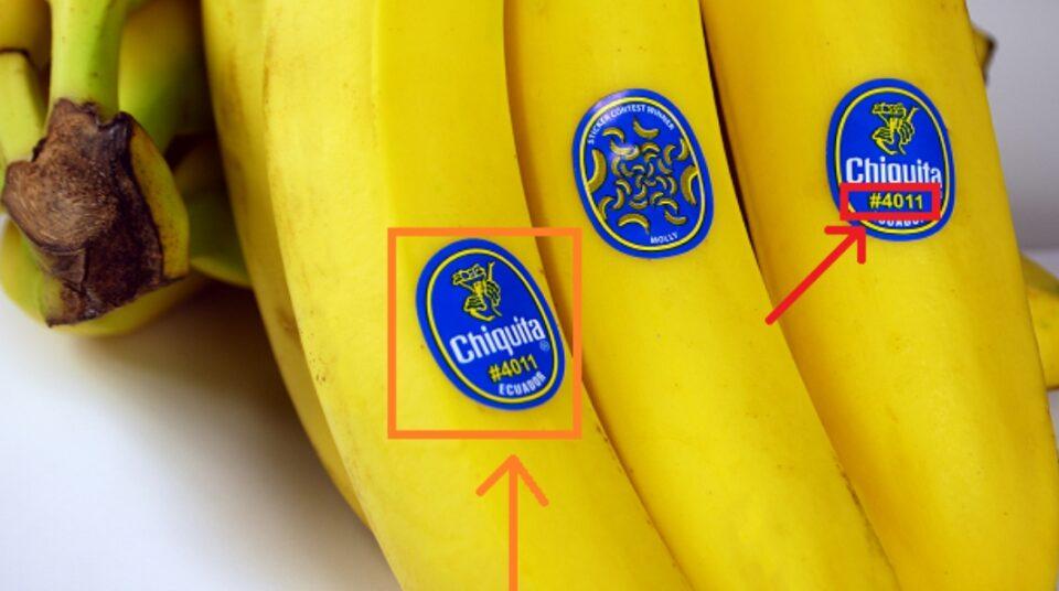 Не ги игнорирајте овие броеви кога купувате банани, тие кажуваат нешто многу важно