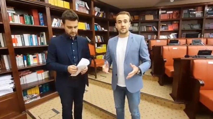 "Стојаноски: Нов објект за СУГС ""Кочо Рацин"" наместо панични реакции пред избори"