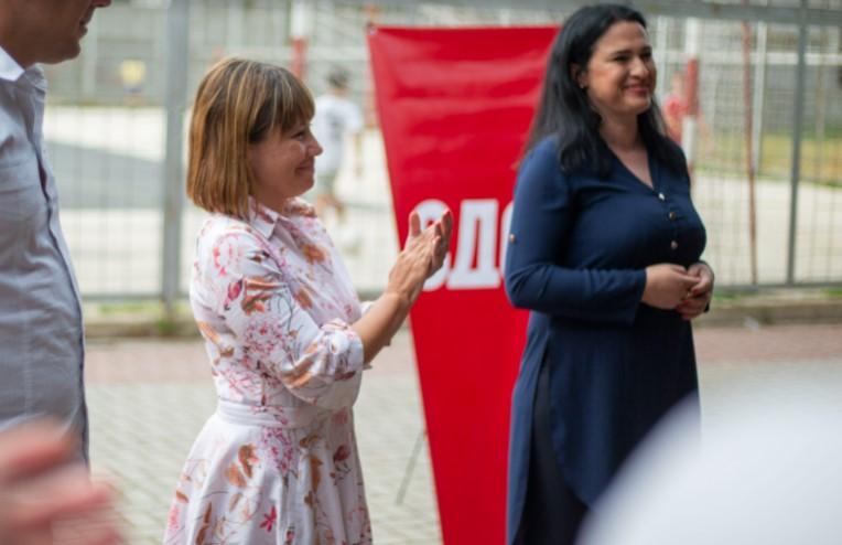 Царовска: СДСМ работи исклучиво во интерес на граѓаните