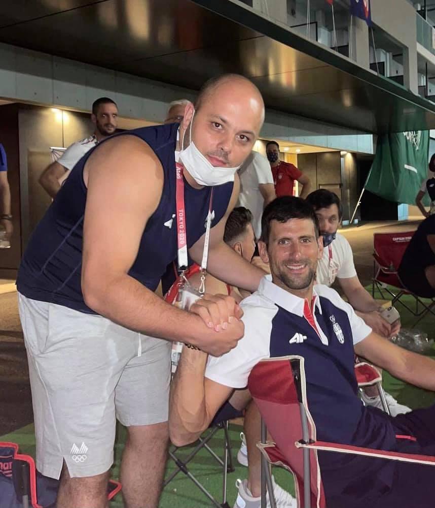 Костовски: Си посакавме златни медали со Новак- поддршка за Деки и Македонија од врвниот светски спортски АС (ФОТО)