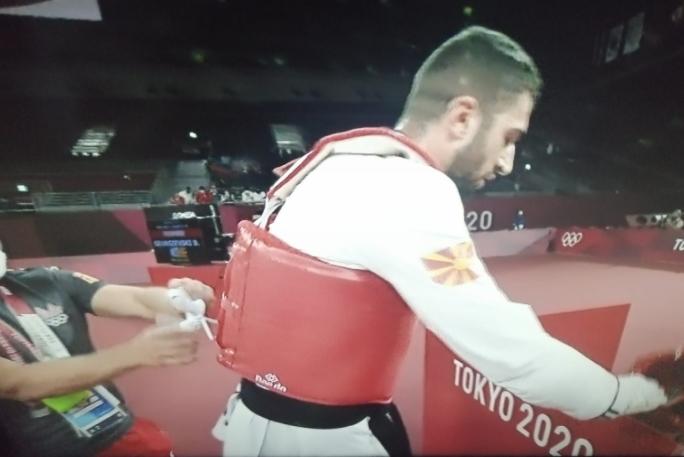 БРАВО ДЕЈАН: Георгиевски го победи светскиот првак и се пласира во четвртфиналето на ОИ во Токио