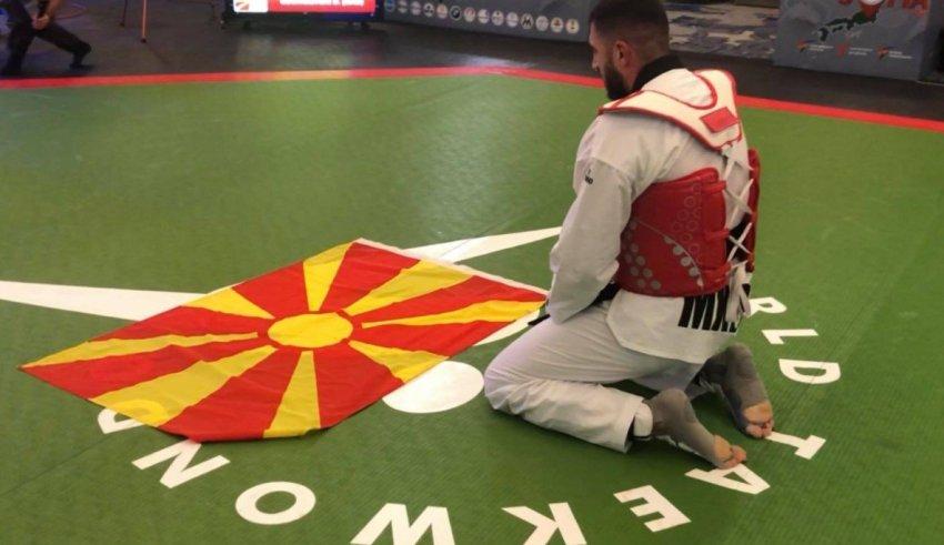 Дејан Георгиевски: Македонското знаме за мене е светост, одам да победам