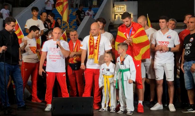 Борче Костовски: Ова е само почеток, во Париз одиме по злато- Чувајте го Дејан како капка вода на дланка, Македонија ВЕЧНА!