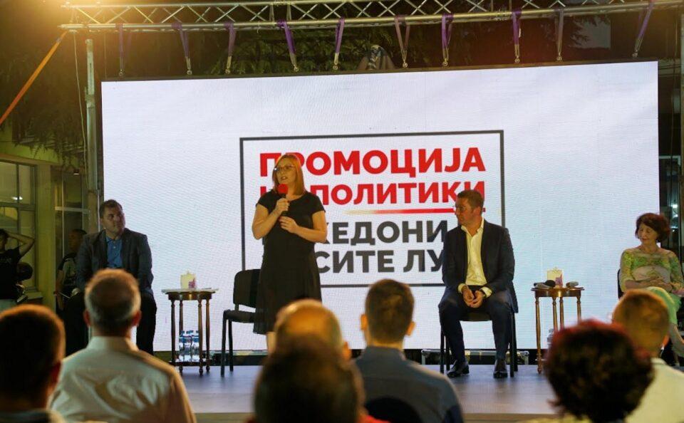 Димитриеска Кочоска: Рекордери сме во регионот со 12% пад на вработеноста во приватниот сектор, власта на СДСМ нè презадолжи, а економијата тоне