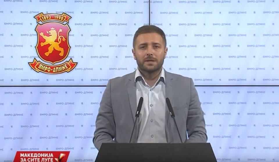 Арсовски: Криминалот и корупцијата почнуваат и завршуваат со Зоран Заев