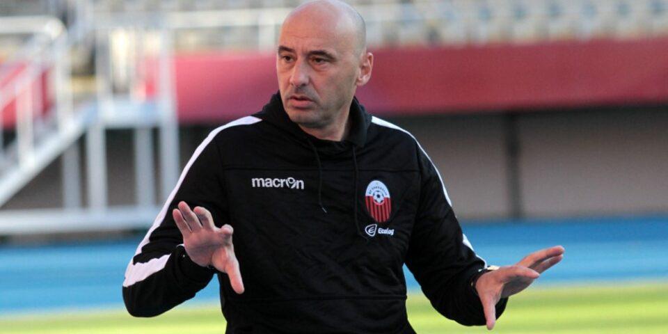 Шкендија ја прекина соработката со тренерот Ѓока