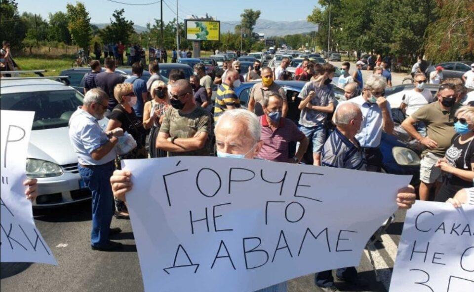 Граѓаните против урбаното дивеење во Ѓорче Петров: Нема да дозволиме Шилегов и Наумоски да ни ги нарушат мирот и безбедноста