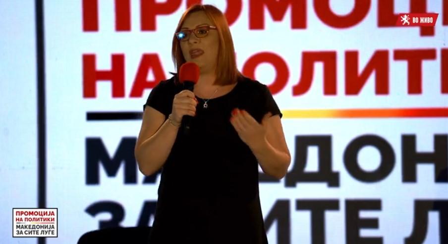 Димитриеска Кочоска: Над 65% од вработените земаат плата помала од 25.000 денари, а голем број работници ги изгубија работните места