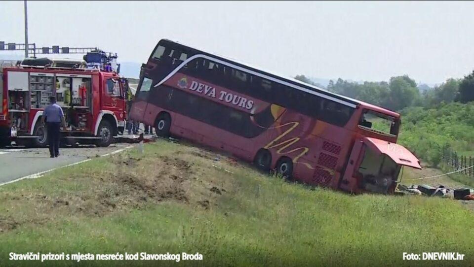 Приведен возачот на автобусот, признал дека задремал на воланот