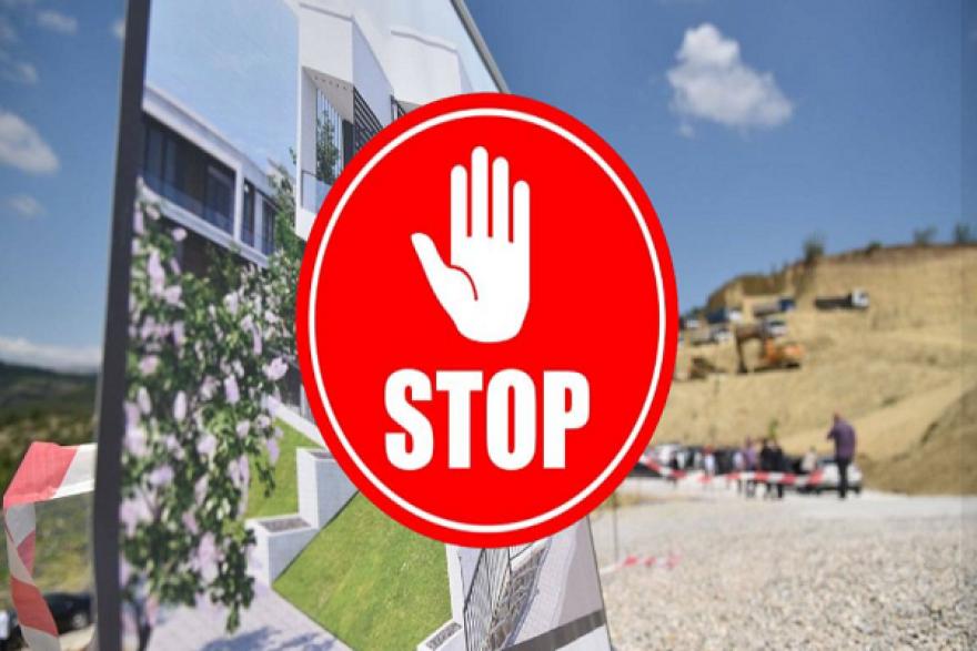 Зелен хуман град: Спорна е изградбата на елитна населба кај Треска